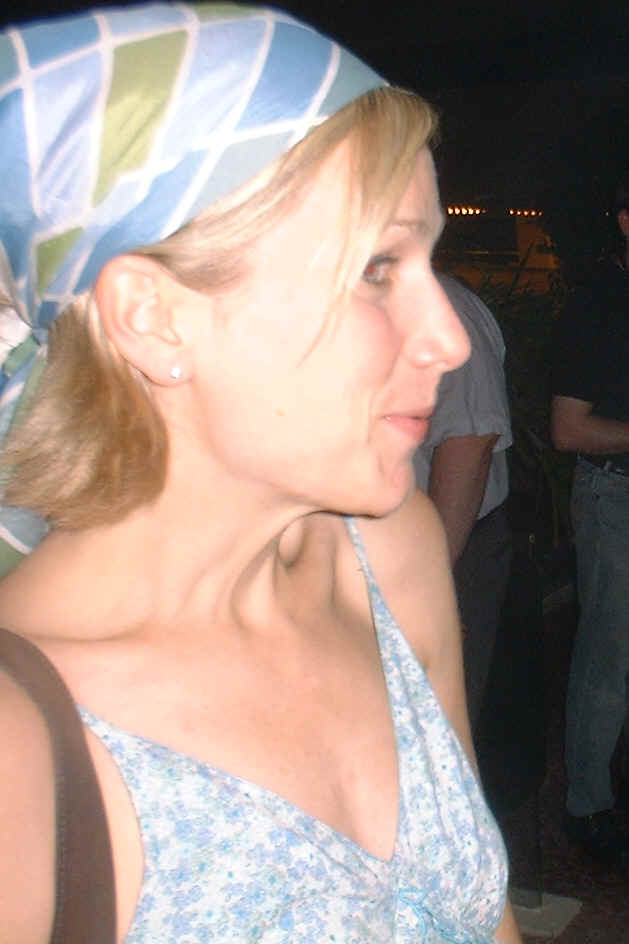 Patricia Zentilli at the Lexx Invasion of Dragon con 2004